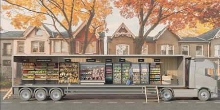 Abrirá primer supermercado móvil del mundo y estará en Canadá