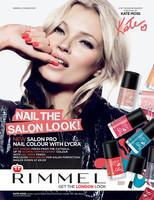 Kate Moss lanza una colección de esmaltes de uñas junto a Rimmel London: Salon Pro Nail Colour