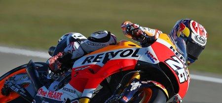 Dani Pedrosa gana el dramático GP de Valencia. Marc Márquez se alza Campeón de MotoGP con un podio tras otra salvada épica