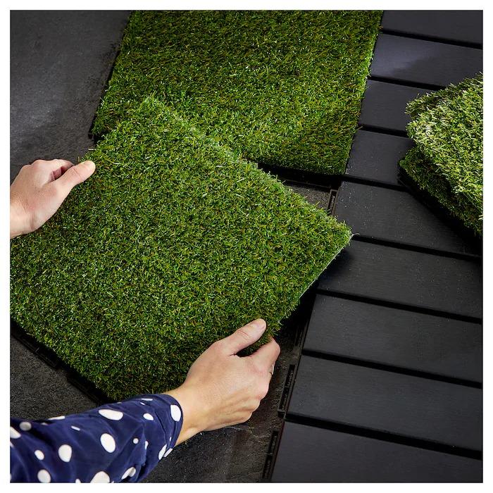 RUNNEN Suelo exterior / suelo terraza, césped artificial0.81 m² Precio/m² 37,04€