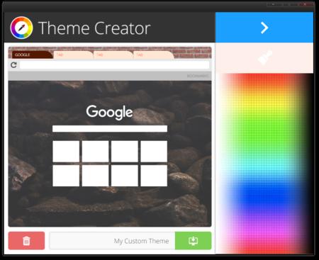 Theme Creator Color