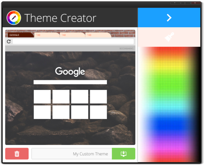 Theme Creator Color