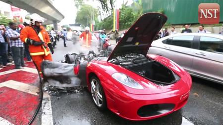 Dolorpasión™: Otro Ferrari F430 a la brasa
