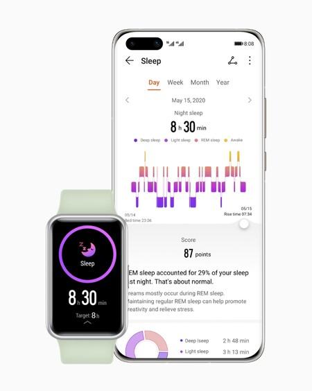 Huawei Watch Fit Sleep Monitoring