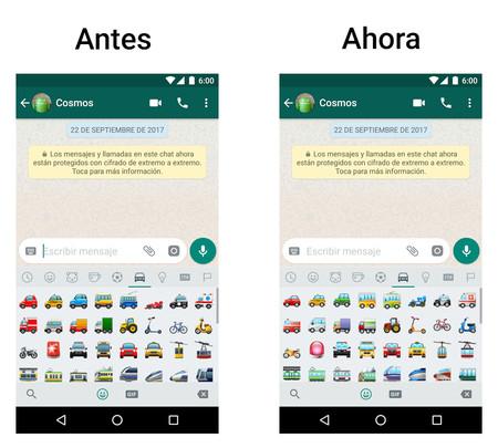 Nuevos emojis WhatsApp