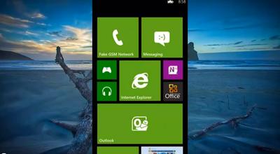 Un video del emulador de Windows Phone 8 se filtra mostrando todas sus novedades