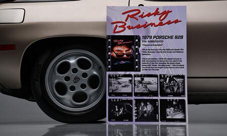 El Porsche 928 de 'Risky Business', a subasta