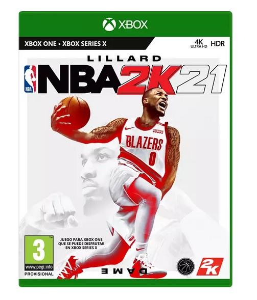 Xbox One NBA 2K21
