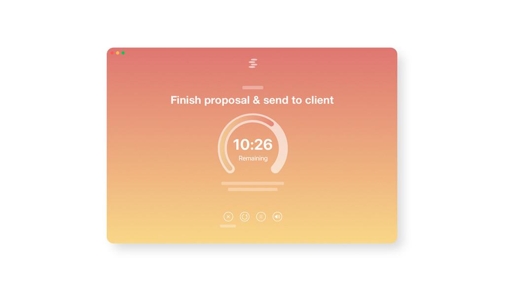 Evita cualquier distracción y concéntrate en completar tareas con esta app para macOS