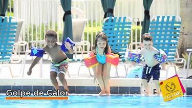 Prevención de enfermedades por el calor en los niños (vídeo)