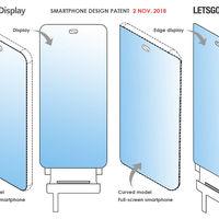 LG esconde la cámara interna en un agujero en la pantalla en su última patente