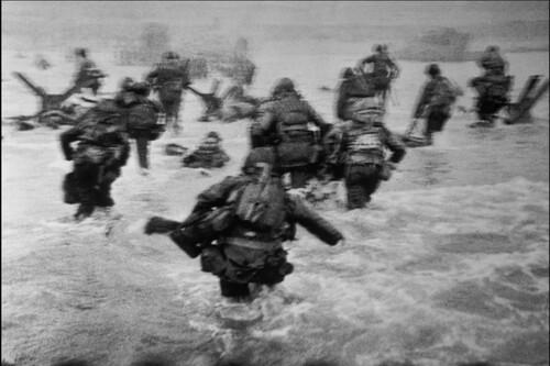 Robert Capa y la realidad de las famosas fotografías del desembarco de Normandía