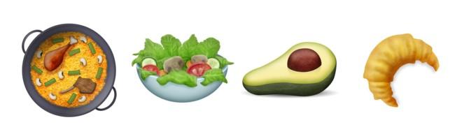 Unicode 9 Food