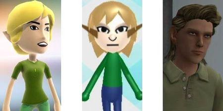 Comparativa de avatares entre Wii, Xbox 360 y PlayStation 3