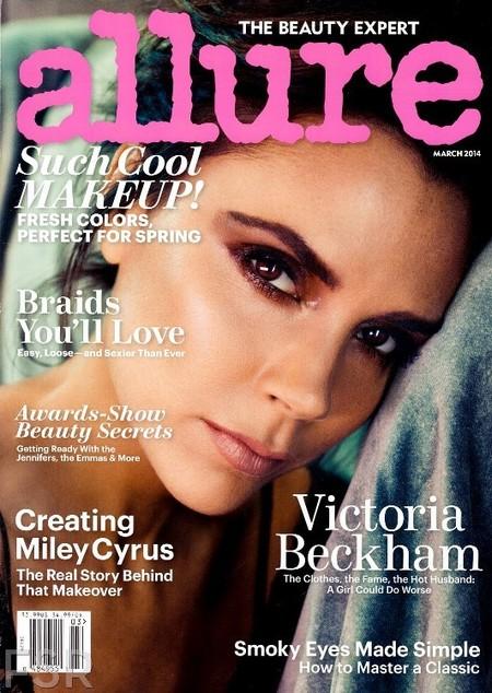 Victoria Beckham enamoradita hasta las trancas, o eso le dice a la revista Allure