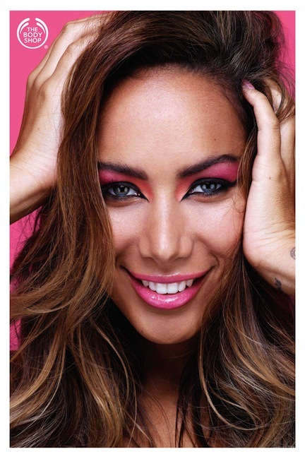 Ya conocemos la nueva colección de Leona Lewis para The Body Shop