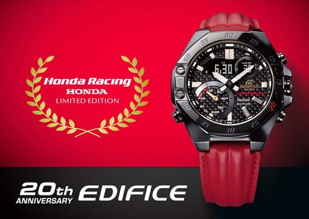 Honda y CASIO celebran veinte años del modelo EDIFICE con tres modelos de edición limitada