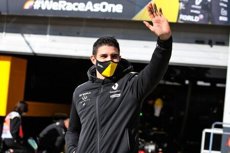 Ocon Nurburgring F1 2020