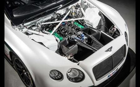 El motor del Bentley Continental GT3