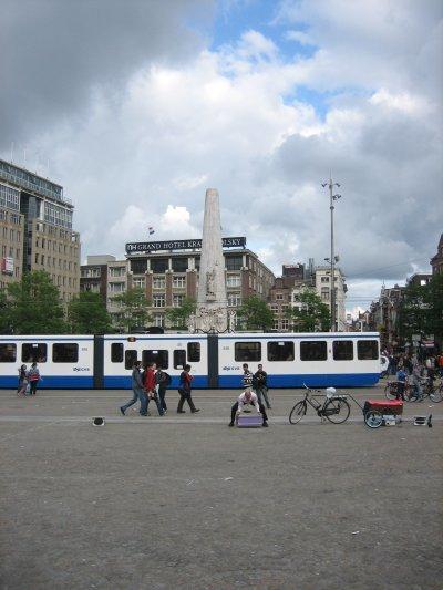 La Plaza del Dam, corazón de Ámsterdam (II)