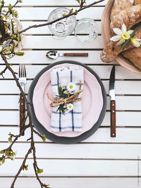Una toque campestre para la decoración de tu mesa