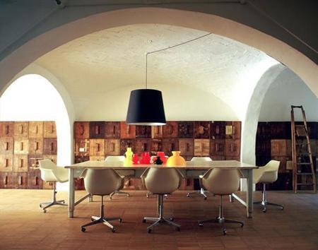 El antiguo taller de un carpintero convertido en un contemporáneo 'loft' en Florencia