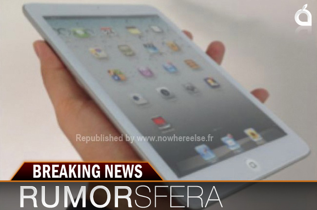 iPad mini rumorsfera
