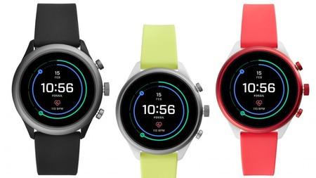 Fossil Sport: el primer Snapdragon Wear 3100 tiene Wear OS y llega en nylon y aluminio