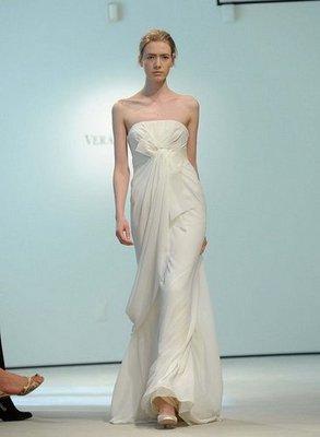 Colección de vestidos de novia de Vera Wang