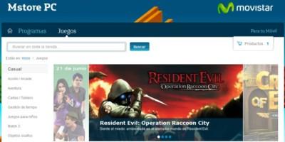 Movistar lanza Mstore PC, su nueva plataforma de descarga de software y videojuegos para PC