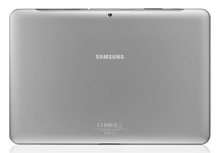 Samsung Galaxy Tab 2 10.1 trasera