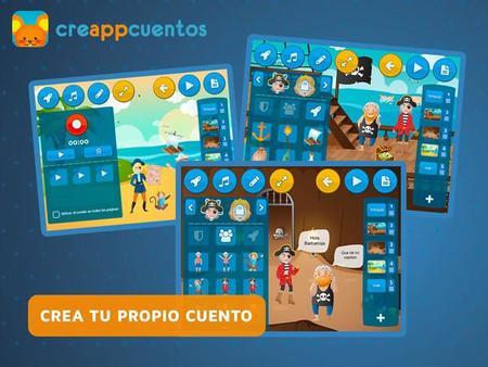 CreappCuentos, una aplicación para que los niños inventen sus propias historias