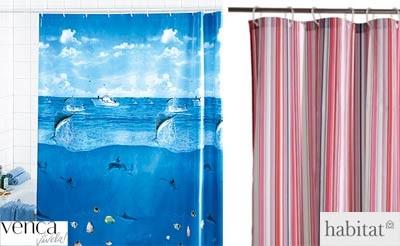 Algunas ideas para las cortinas de ducha - Cortina ducha ikea ...