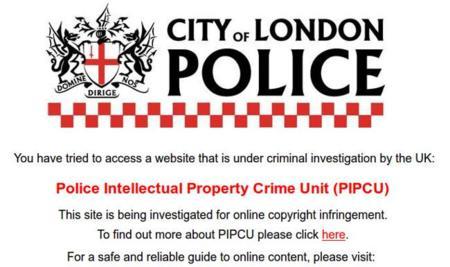 La Policía de Reino Unido tira varios servicios de proxys utilizados para descargar contenido protegido