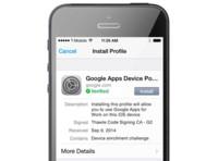 Google quiere correos y archivos seguros en iOS con Sync para Google Apps