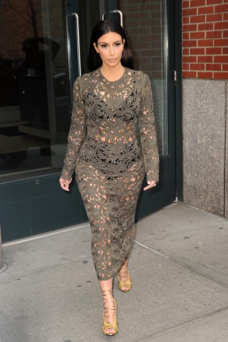 Kim kardashian Rachel Roy encaje