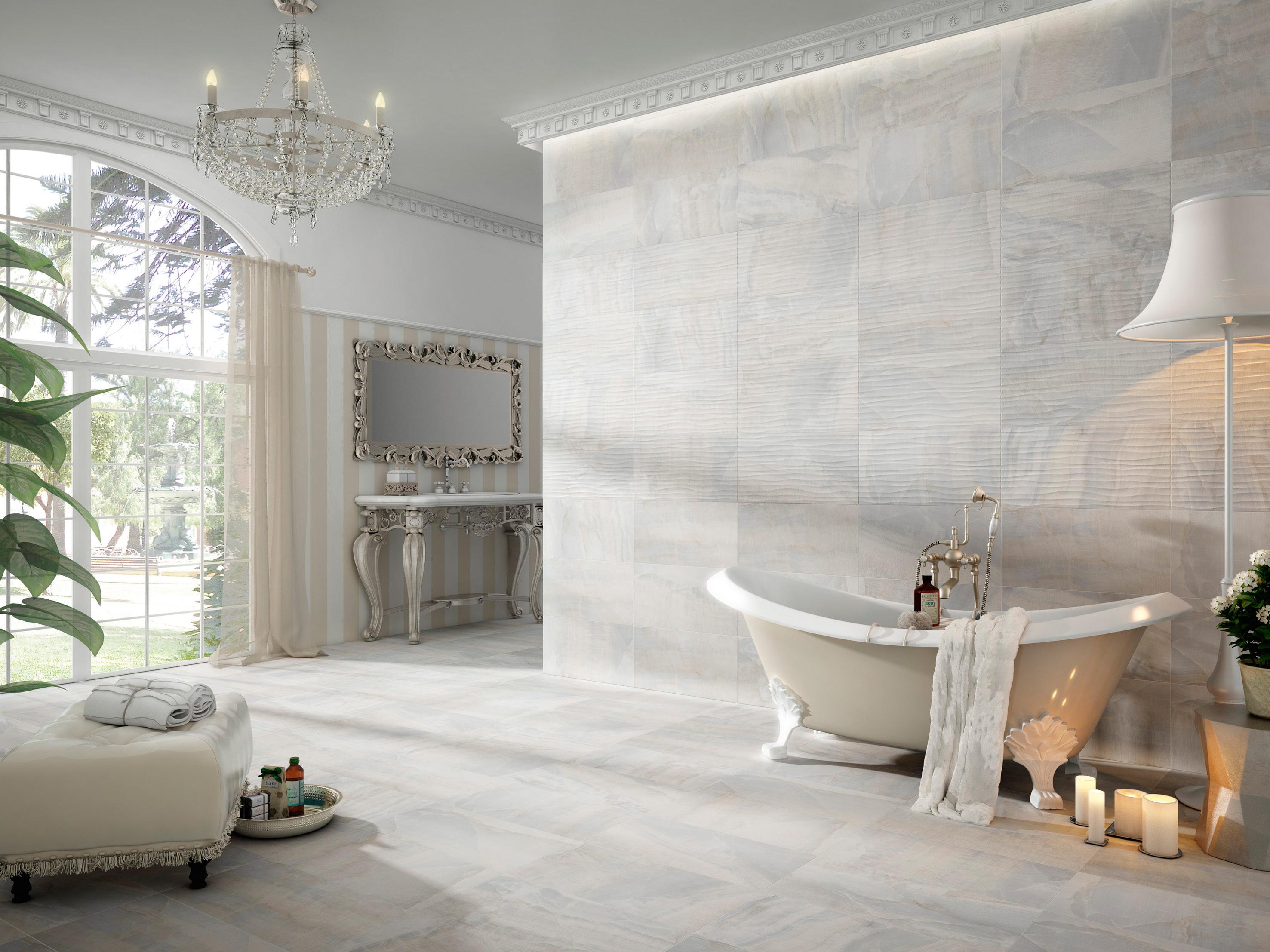 Cer micas y frisos 7 ideas para vestir tus paredes que te - Paneles imitacion piedra bricodepot ...