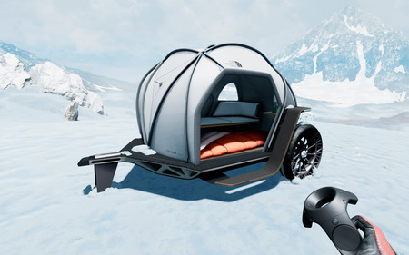 Futurelight Camper Concept La Mini Caranava De Bmw Que Desafia A La