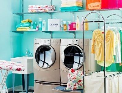 Organiza tu lavandería en casa