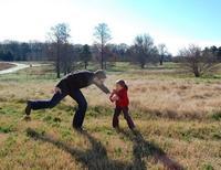 El niño tiene que hacer ejercicio, aún en invierno