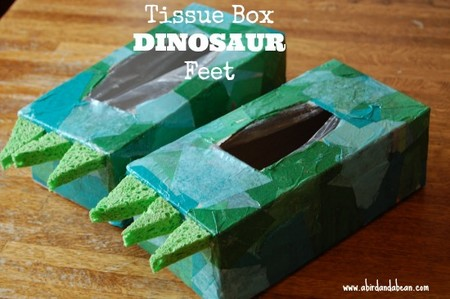 Manualidades Dinosaurios Disfraz Patas