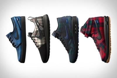 Las Nike en pura lana virgen de Pendleton