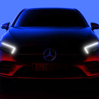 Así luce el Mercedes-Benz Clase A 2018 en su primera imagen sin camuflaje, aunque aún en penumbra