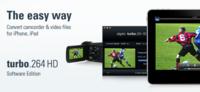 Turbo.264 HD Software Edition, convierte diferentes formatos de vídeo para tu Mac o dispositivo iOS