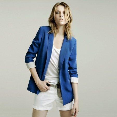 Blazer lookbook mayo de Zara