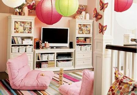 pbteen habitacion niños alfombra multicolor