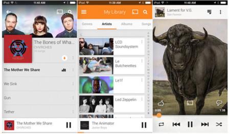 Google Play Music aterriza por fin en iOS