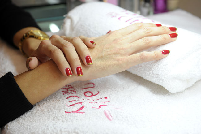 Foto de Manicura Red&Golden Cristmas de Nails and the City (2/3)