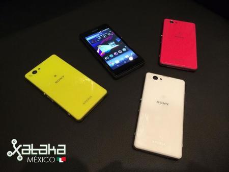 Sony Xperia Z1 Compact, toma de contacto
