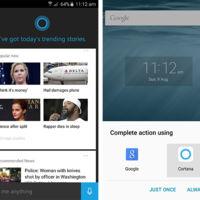 La nueva beta de Cortana se quiere colar en los gestos táctiles para quitar a Google Now